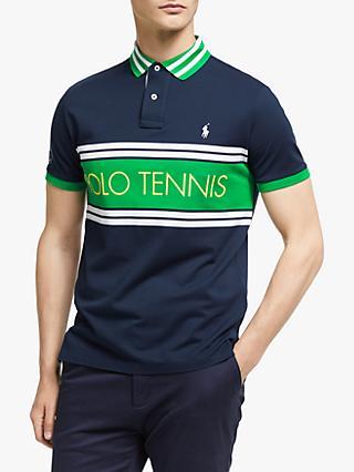 e9762da772cc4 Polo Ralph Lauren Wimbledon Polo Tennis Polo Shirt, French Navy