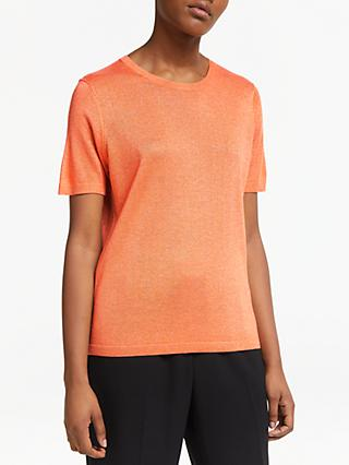 JEFF Emery Short Sleeve Jumper, Orange