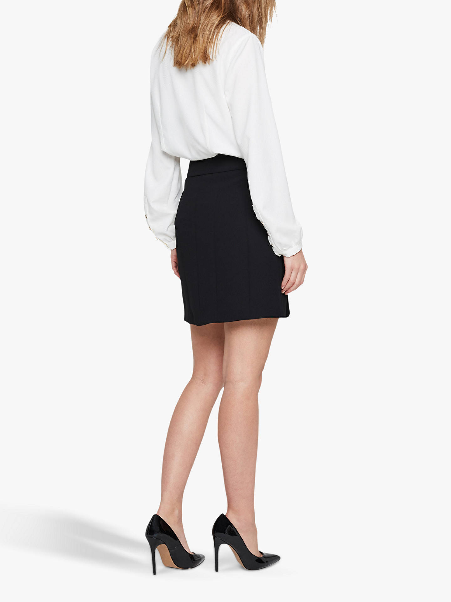 Buy Damsel in a Dress Bea City Suit Skirt, Black, 12 Online at johnlewis.com