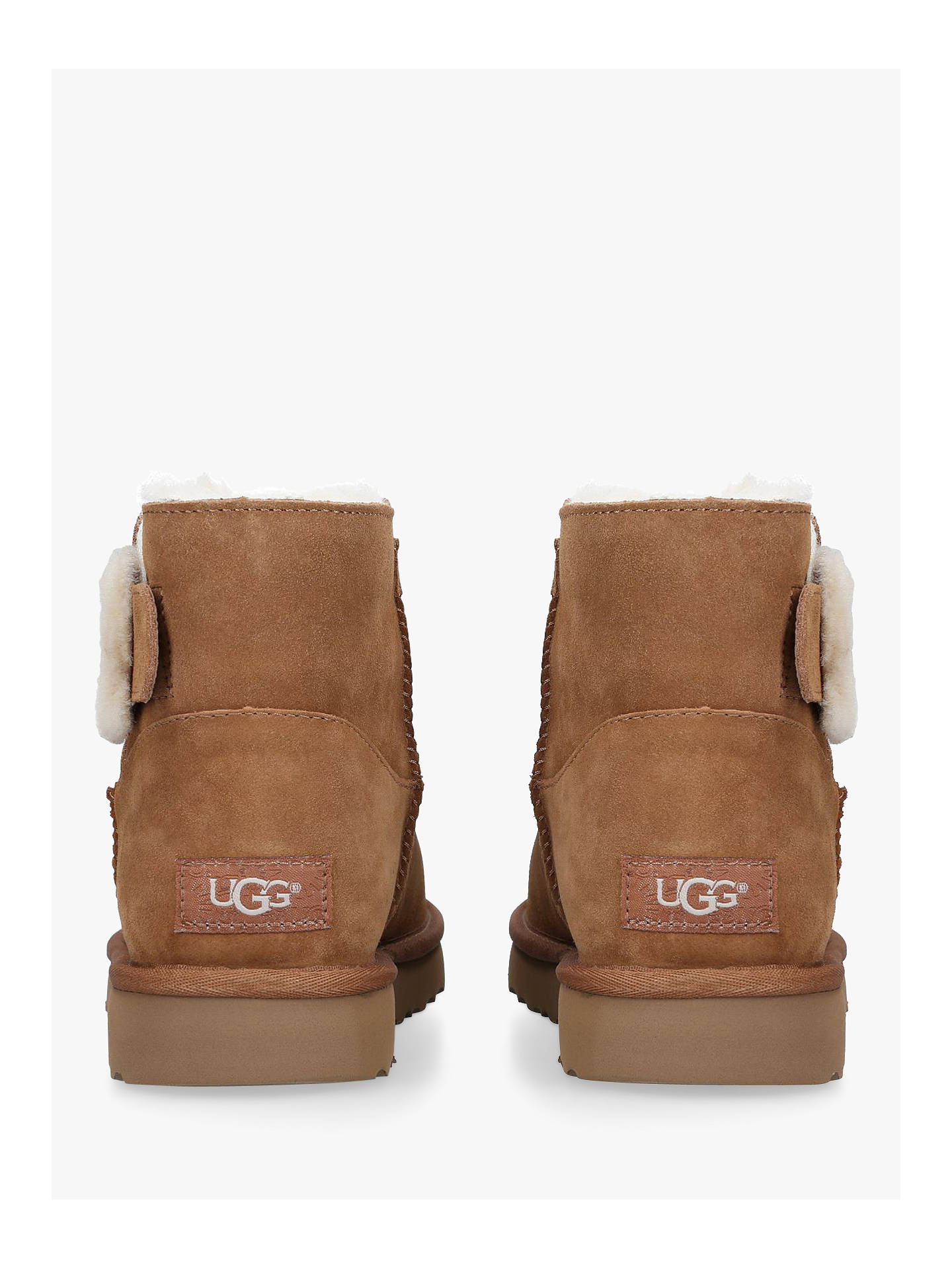 fb595fa8eae UGG Mini Bailey Fluff Buckle Ankle Boots at John Lewis & Partners