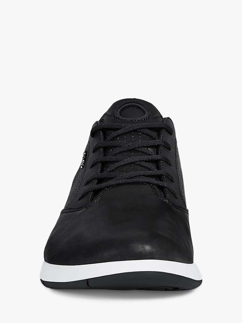 Geox Aerantis High Top Leather Trainers at John Lewis & Partners