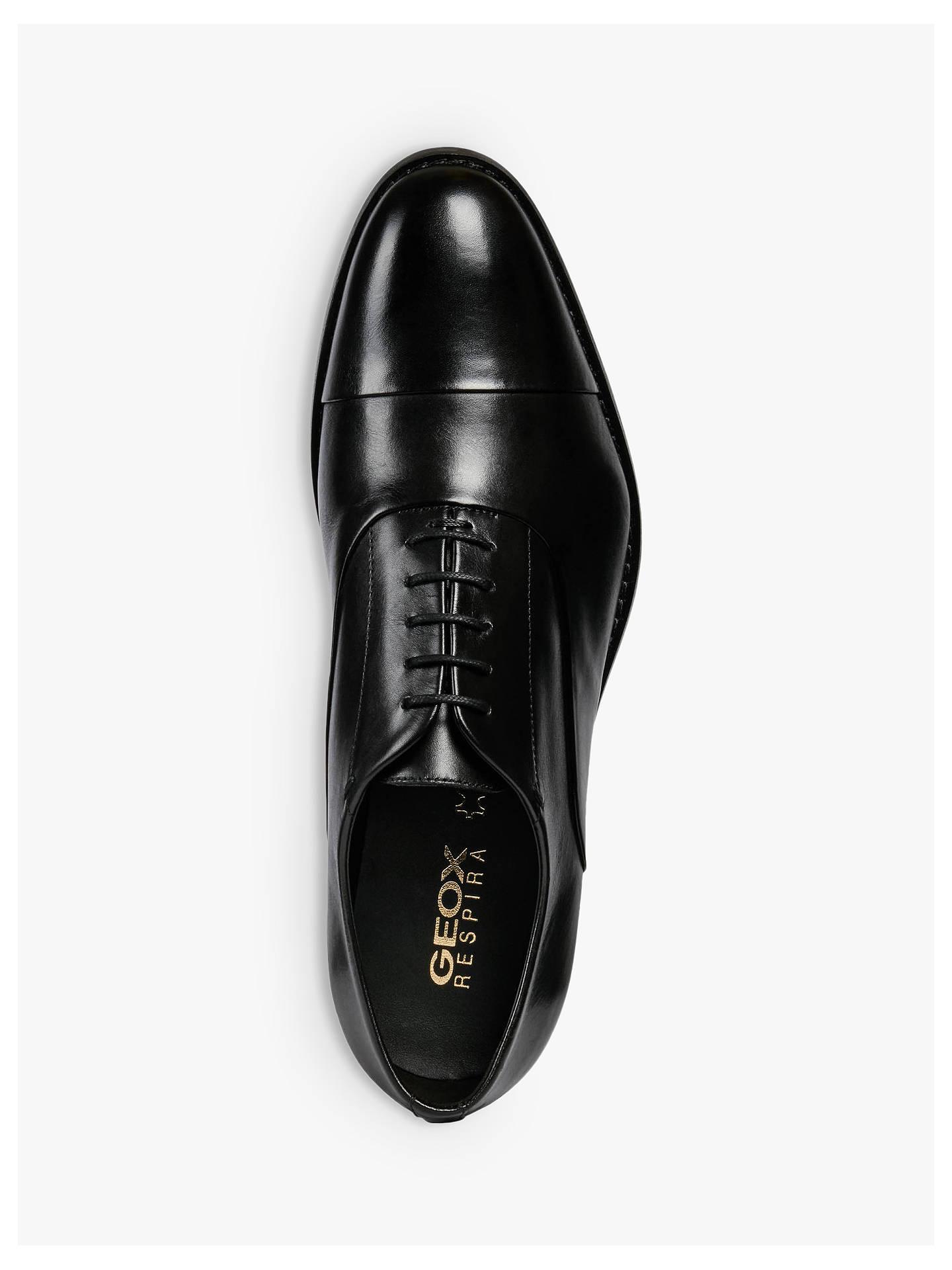 Ventana mundial trompeta ala  Geox Hampstead Leather Oxford Shoes at John Lewis & Partners