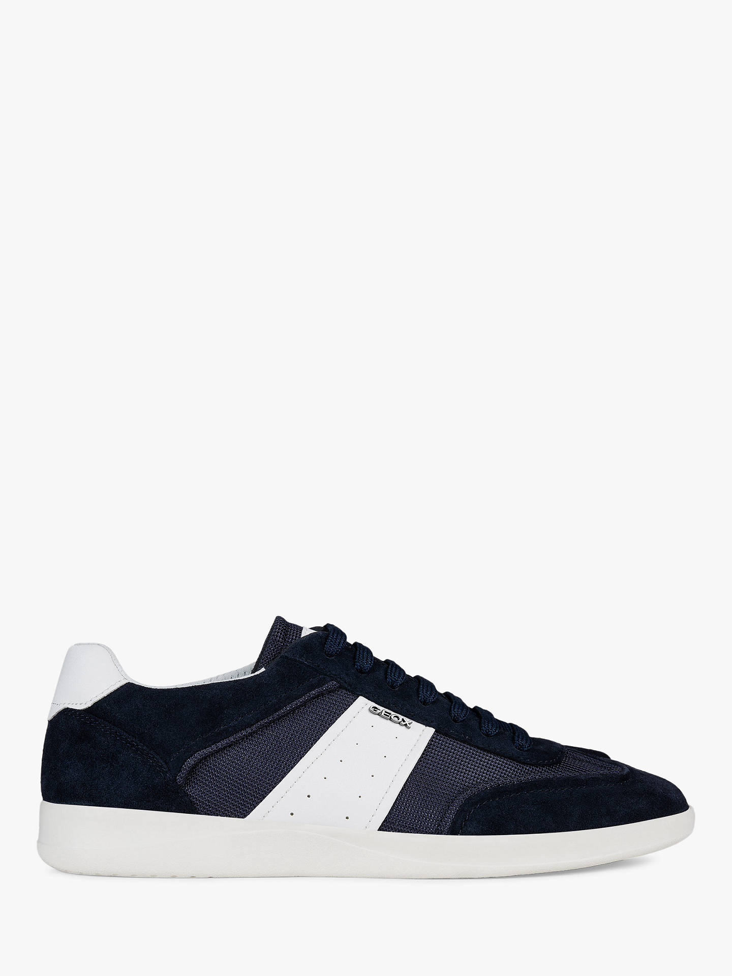 a3b8ce6c2b0d Geox Kennet Textile Detail Trainers at John Lewis   Partners