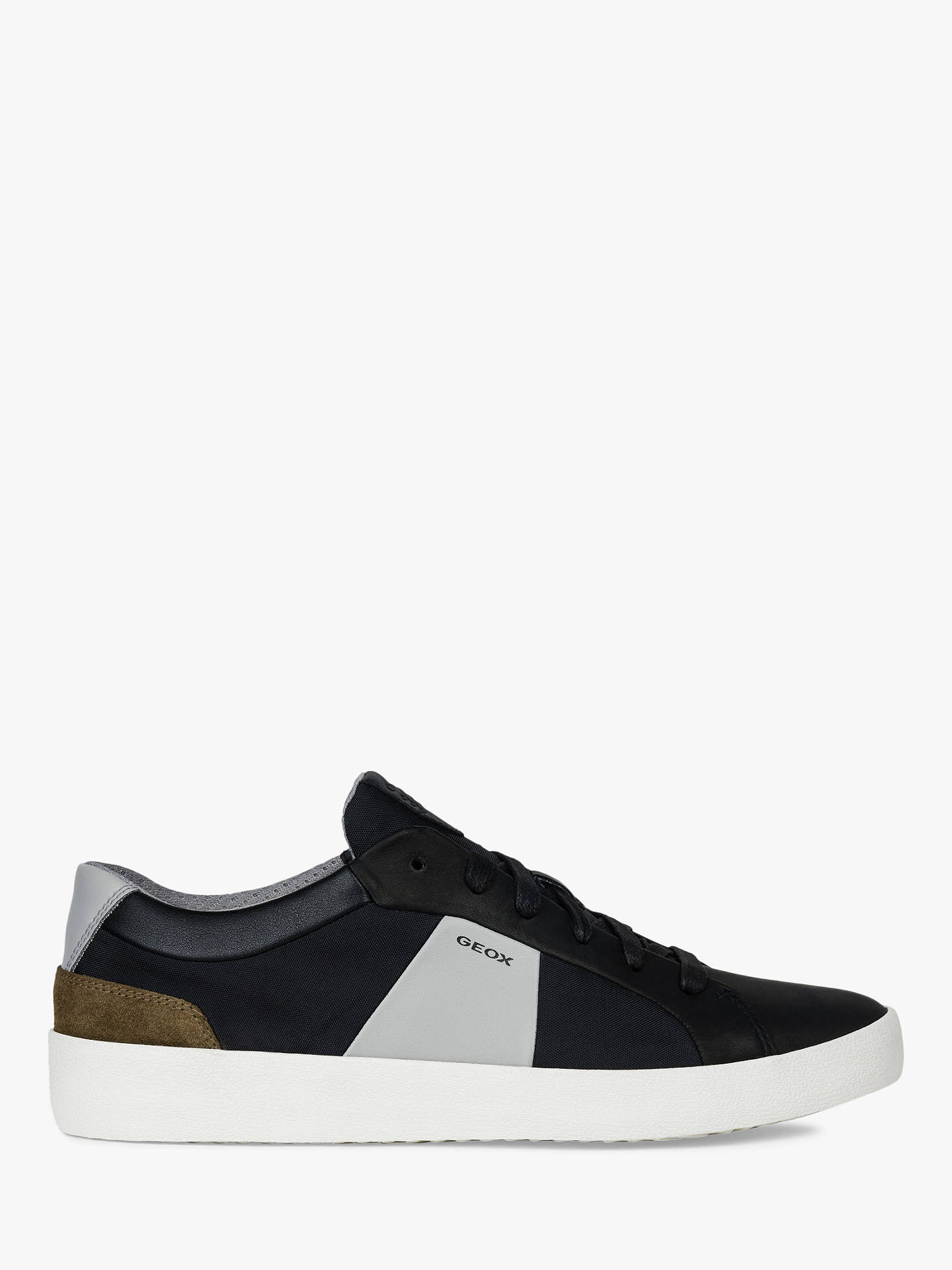 2a7397184e Geox Warley Leather Chunky Trainers at John Lewis   Partners