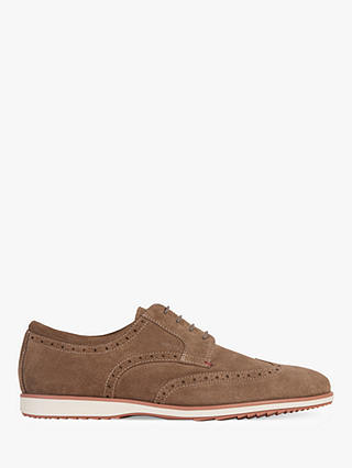 Geox Blainey Suede Brogues at John Lewis & Partners