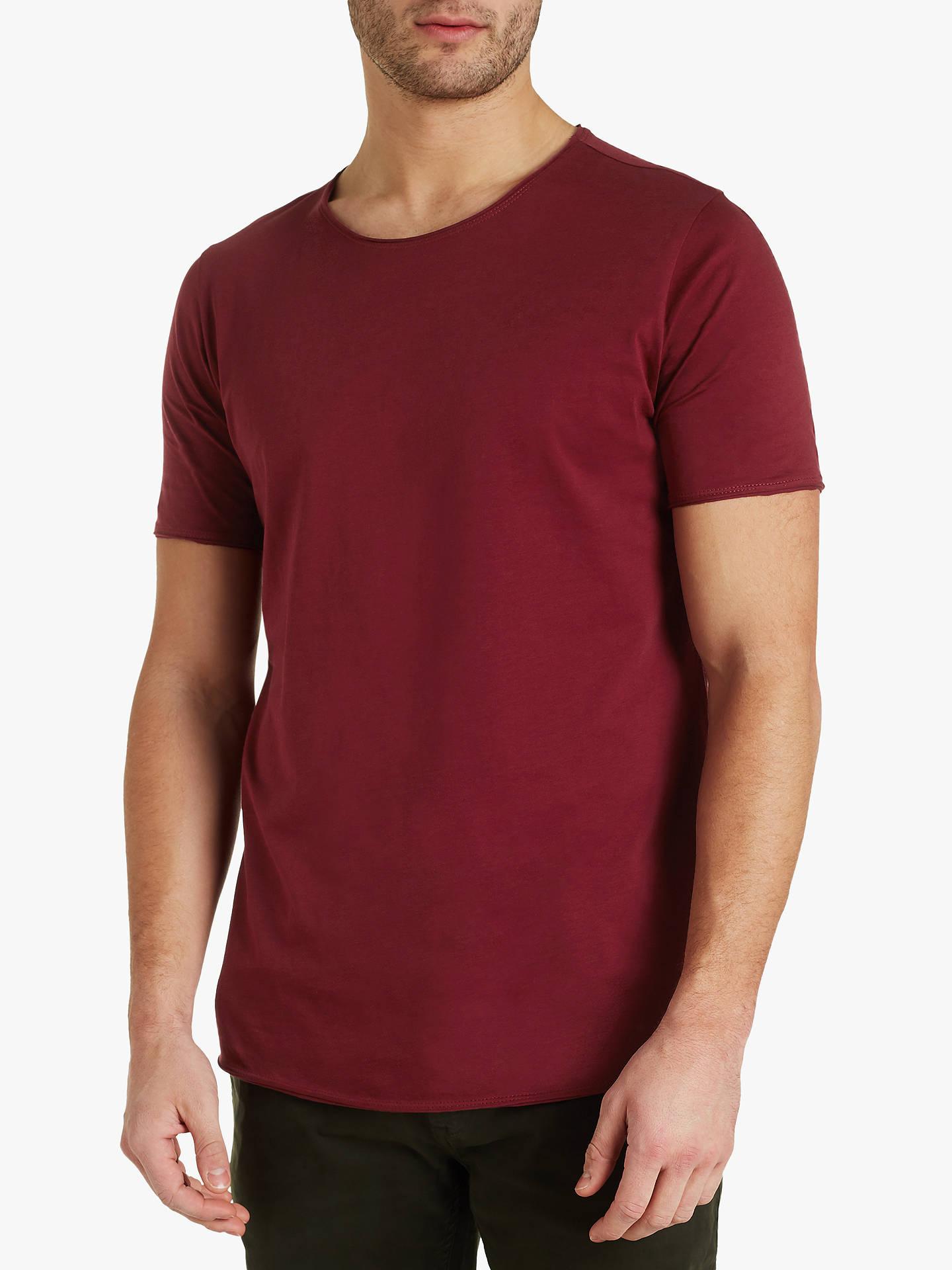 3a8ff36e50412 HUGO by Hugo Boss Depusi Pima Cotton T-Shirt at John Lewis   Partners