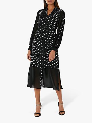 044df10f387 Coast Maribel Spot Midi Dress