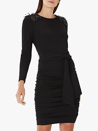 Coast Shea Embellished Dress, Black