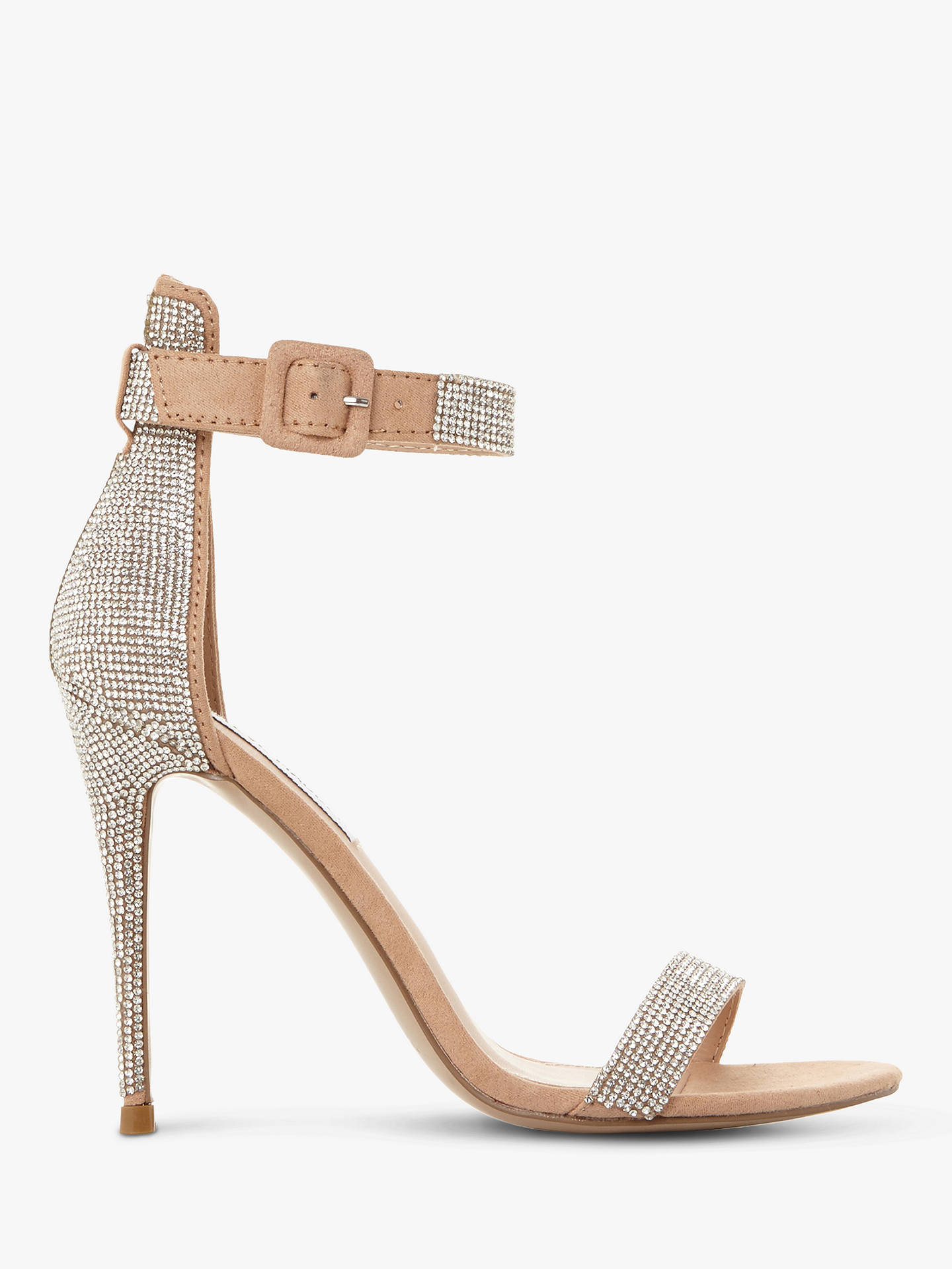 3c4a8fd2997 Buy Steve Madden Mischa Embellished Ankle Strap Heeled Sandals