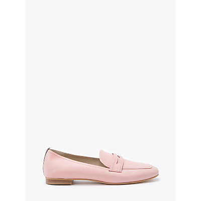 Boden Georgina Loafers, Chalky Pink Leather