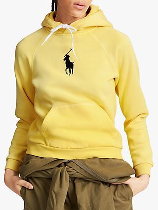 d9f1483c5f89 Polo Ralph Lauren Logo Fleeceback Hoodie