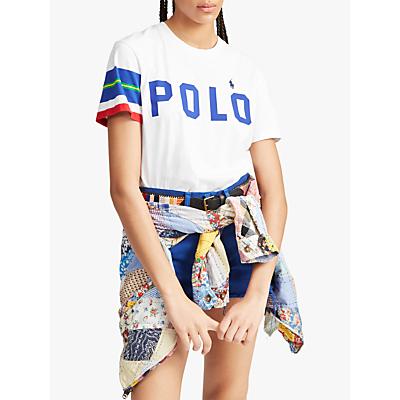 Polo Ralph Lauren Logo T-Shirt, White