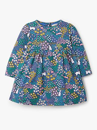 John Lewis & Partners Baby Floral Print Dress, Multi