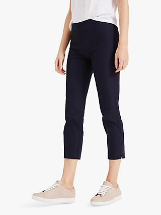 Phase Eight Hatty Cropped Trousers, Navy