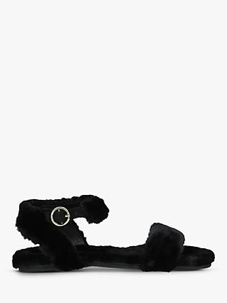 Kurt Geiger London Children's Smitten Faux Fur Sandals