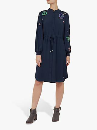 a9d54c435 Ted Baker Colour By Numbers Dioss Embroidered Shirt Dress