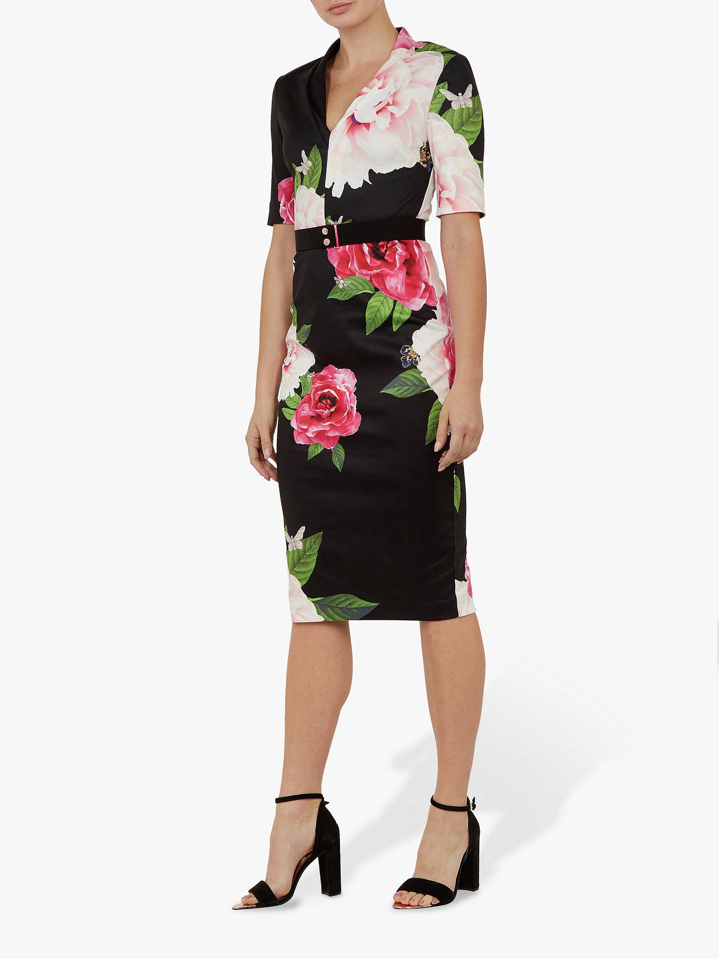 71d0fe5e3155 Buy Ted Baker Gilanno Floral Bodycon Dress