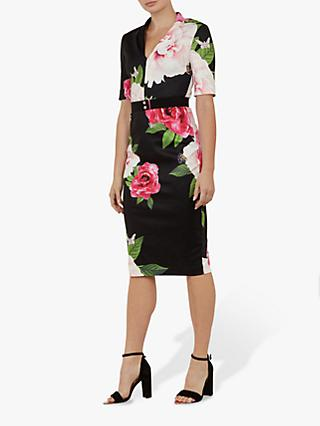 64151848b823df Ted Baker Gilanno Floral Bodycon Dress
