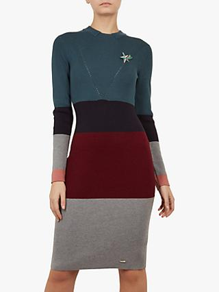 3e7319b1e Ted Baker Colour By Numbers Franae Knit Dress