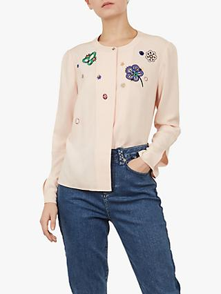 01a1af028a09c Ted Baker Colour By Numbers Kaliona Embroidered Shirt