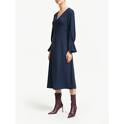 Finery Lykke Flared Midi Dress