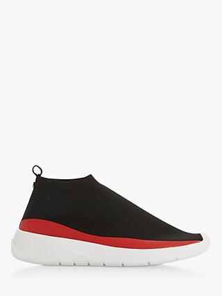 Dune Eton Sock Trainers, Black