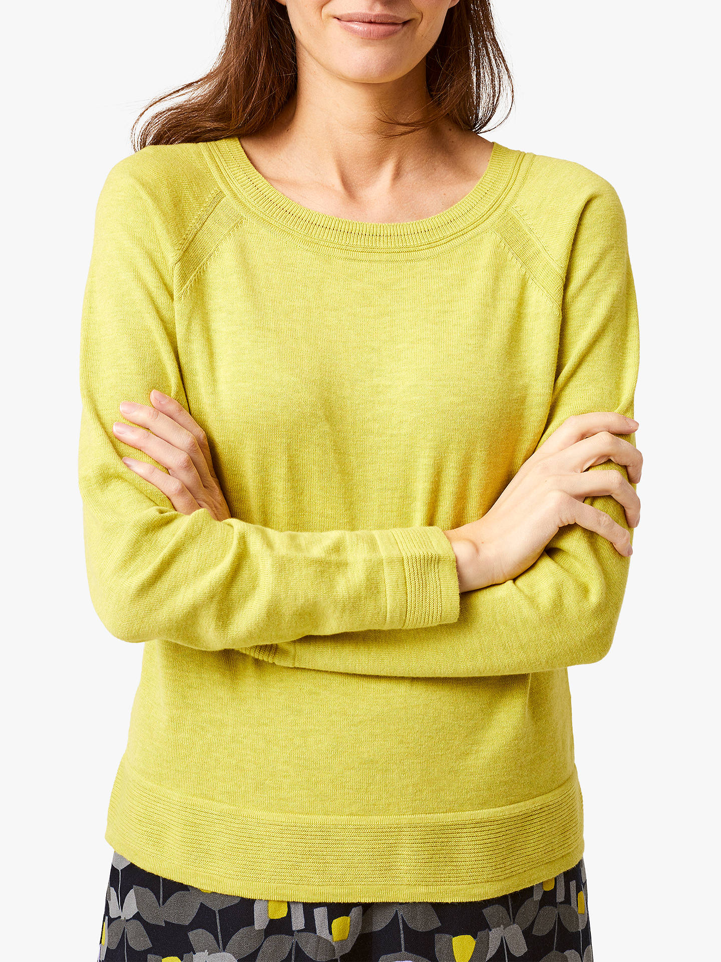 BuyWhite Stuff Promenade Jumper, Kiwi Green, 6 Online at johnlewis.com
