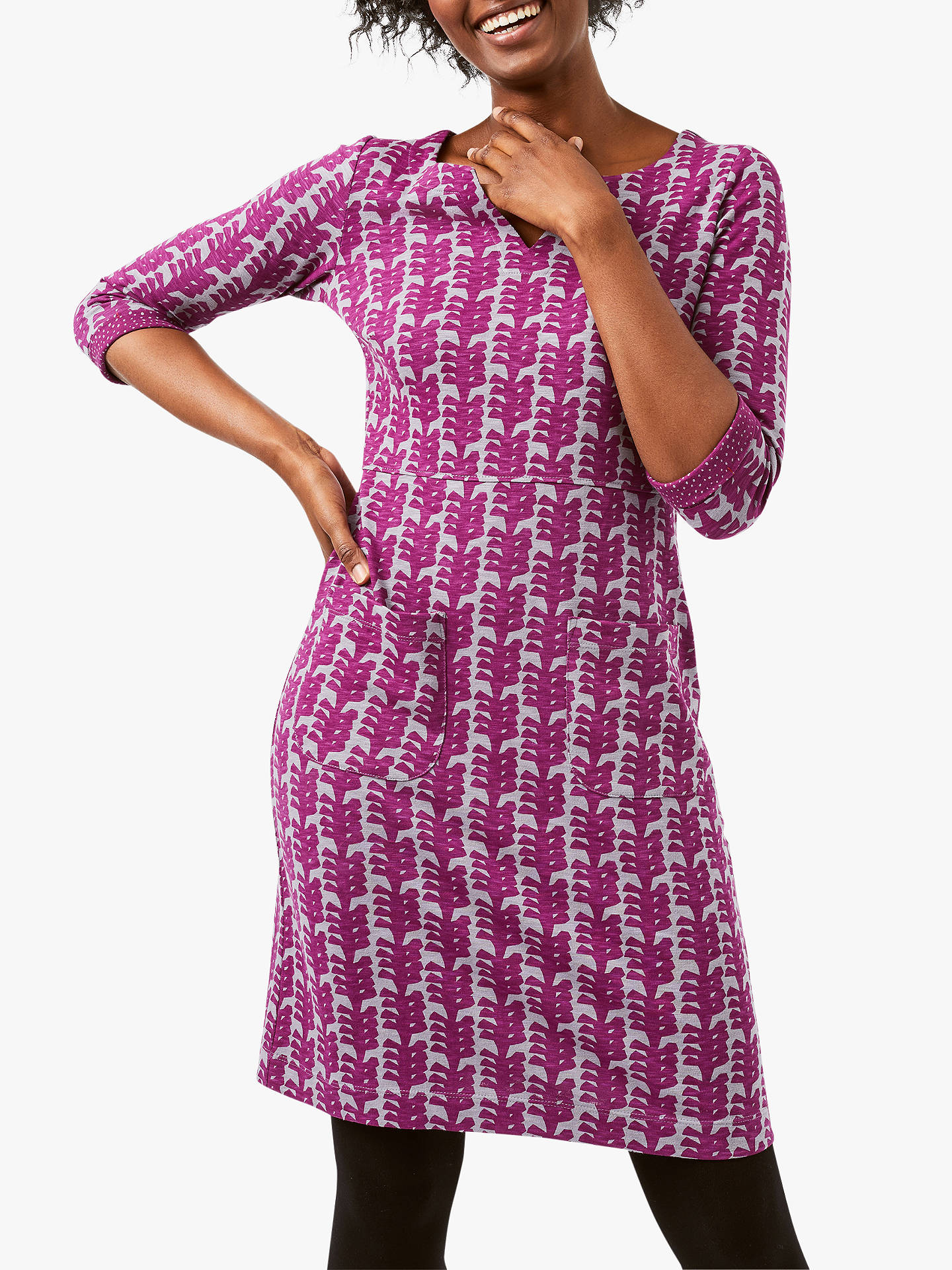 a3eb793228 White Stuff Polly Dress, Purple Print at John Lewis & Partners