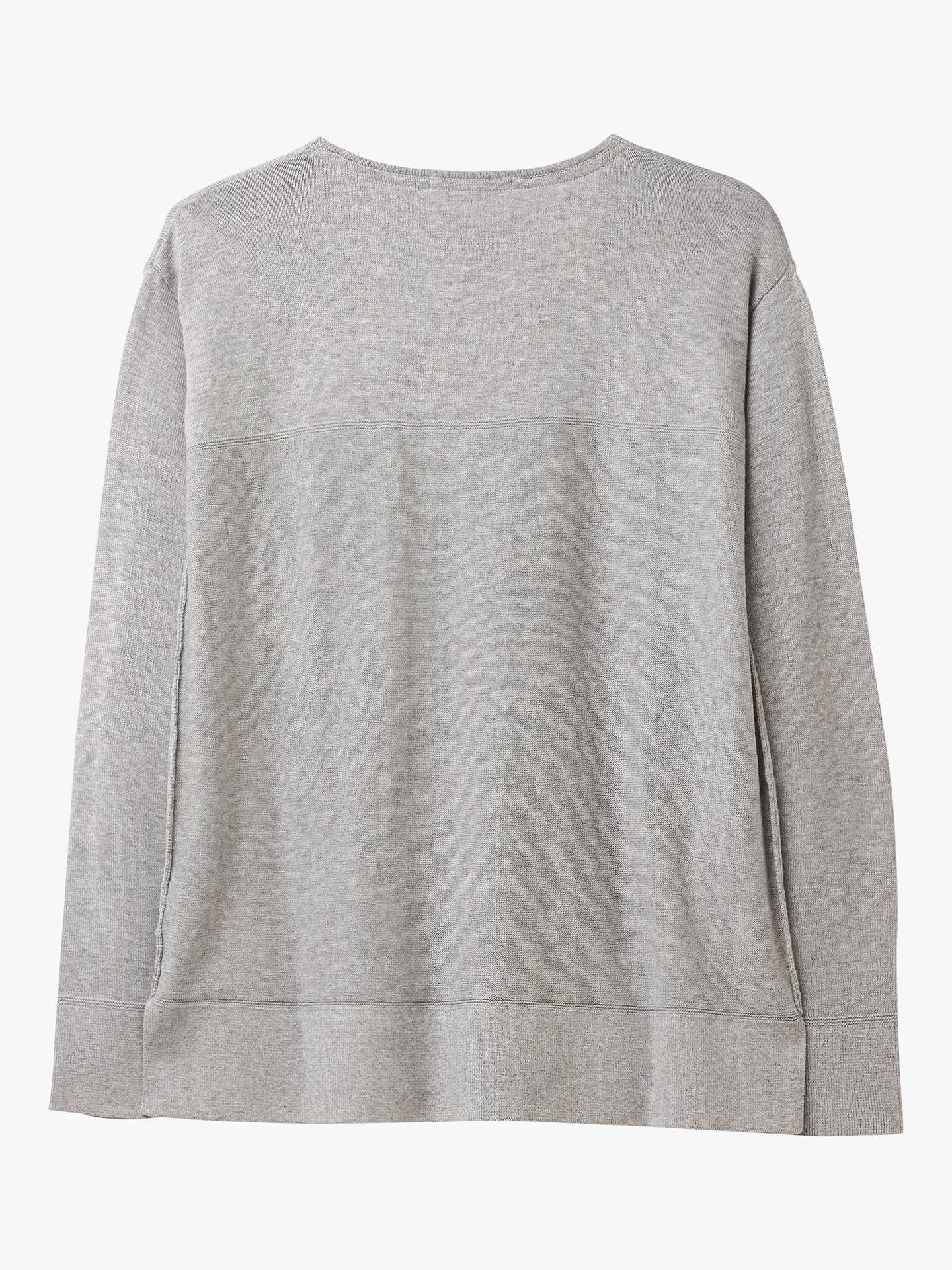 BuyWhite Stuff Scandi Jumper, Silver Grey, 16 Online at johnlewis.com