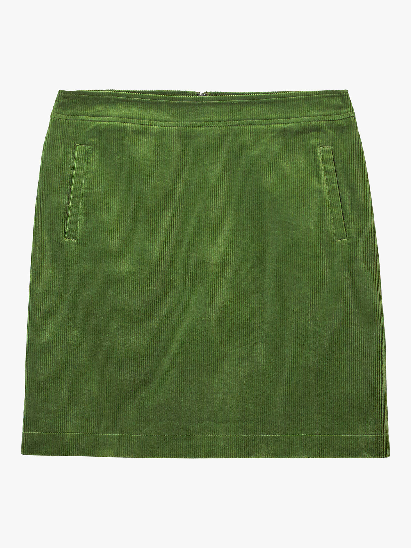 1ccc138268 ... Buy White Stuff Iris Cord A-Line Skirt, Green, 16 Online at johnlewis  ...