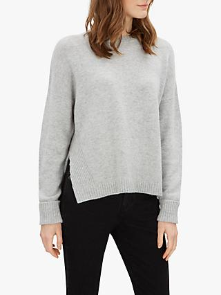 Jaeger Side Split Jumper, Grey