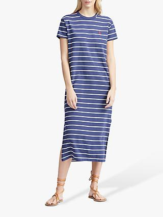 e5f8a9666b3 Polo Ralph Lauren Casual Stripe Midi Dress