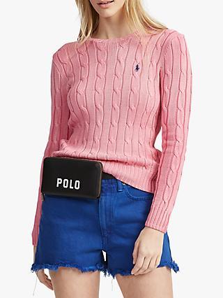 2beba669a95 Polo Ralph Lauren Julianna Knitted Cotton Sweater