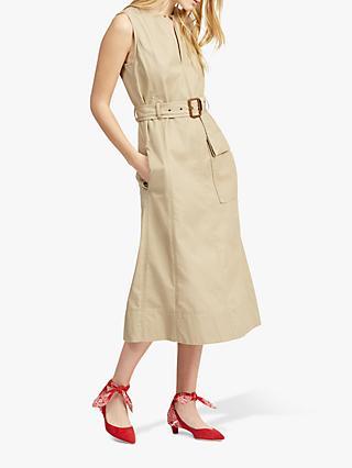 4e94330123f Polo Ralph Lauren Beverly Sleeveless Belted Dress