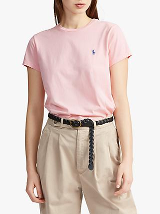 Polo Ralph Lauren Signature Embroidered Cotton T-Shirt