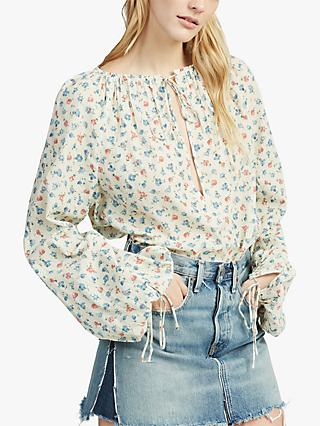 Polo Ralph Lauren Floral Print Blouse, Ditsy Daisy