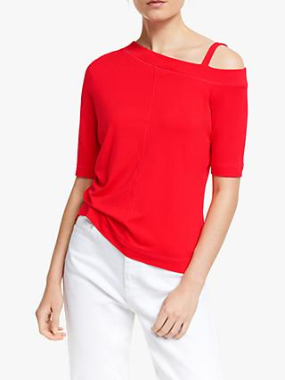 AND/OR Across Shoulder Top, Red