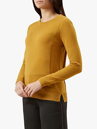 Hobbs Penny Knitted Sweater, Yellow