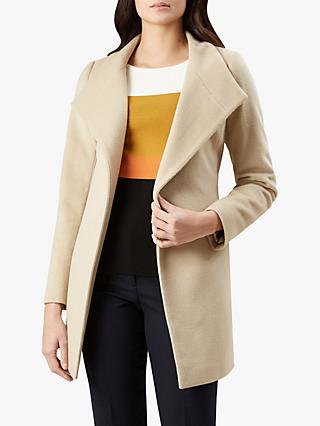 Hobbs Marcella Coat, Blonde