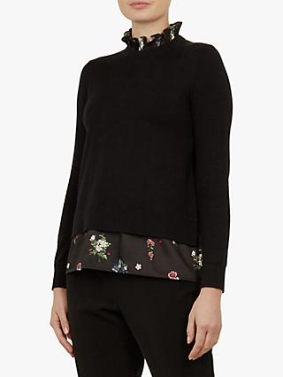 Ted Baker Flisiti Jumper, Black