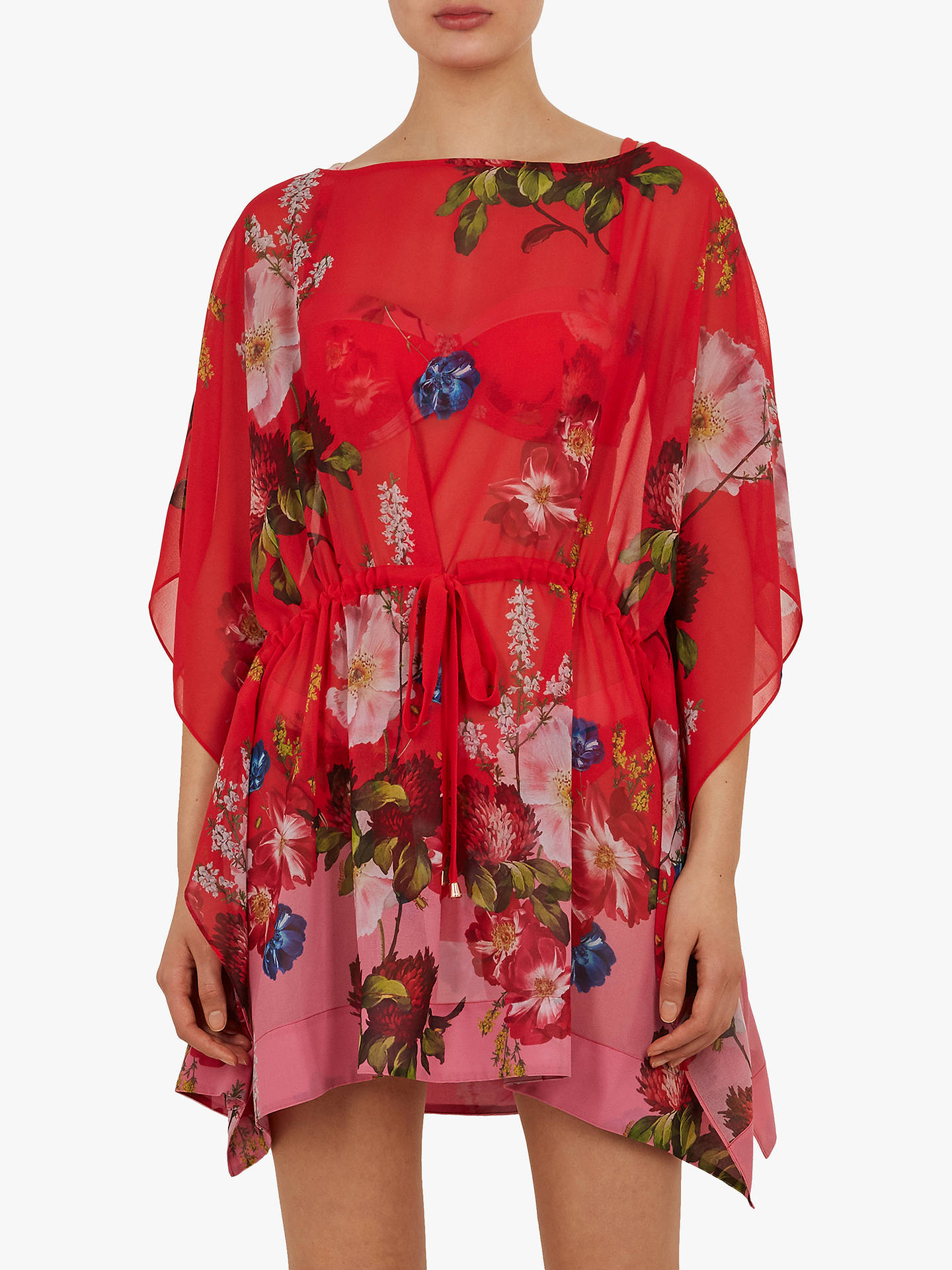 Buy Ted Baker Berry Sundae Beach Cover Up, Orange, S Online at johnlewis.com