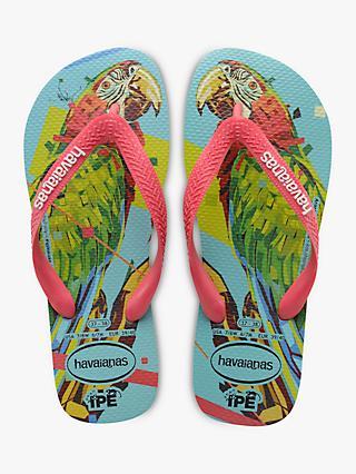 134eb739bce7 Havaianas Parrot Print Flip Flops
