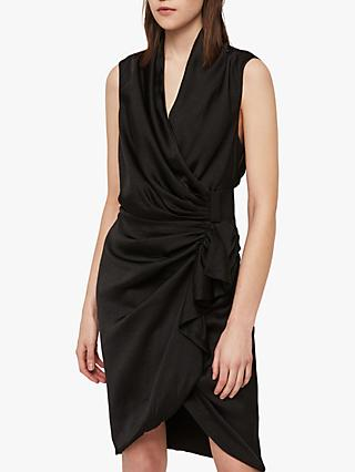 AllSaints Cancity Gathered Dress 07e398394