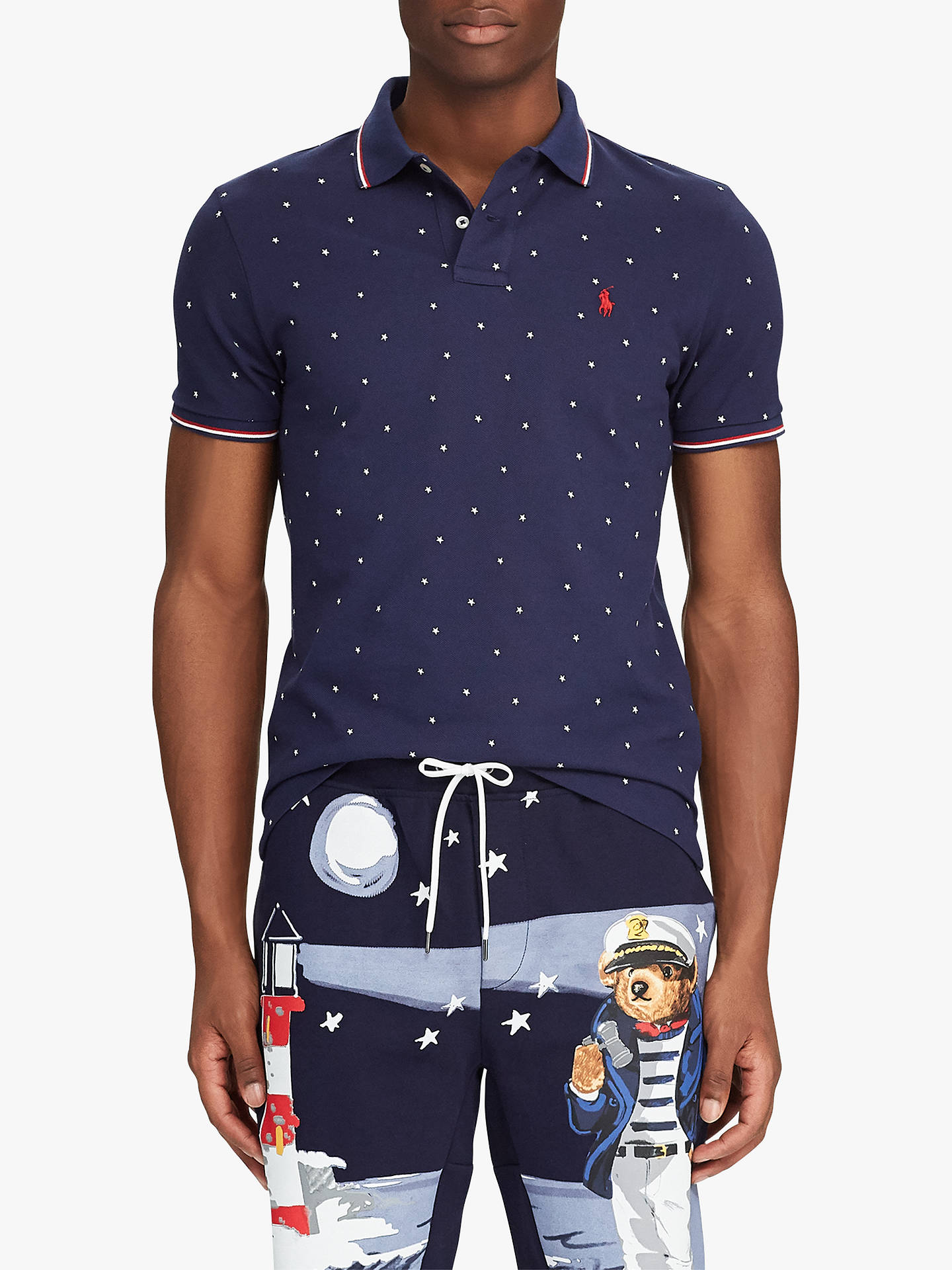 Polo Ralph Star ShirtTossed Tipped Pattern Lauren Stars Ibf7yg6Yv