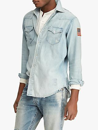 f461478ade054 Polo Ralph Lauren Western Denim Shirt
