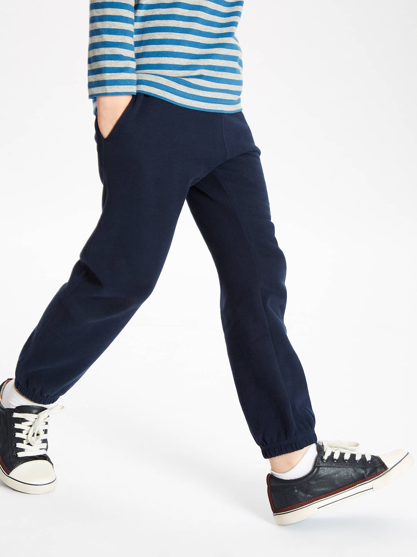 cb92cc2156b6fb Buy John Lewis & Partners Boys' Joggers, Navy, 3 years Online at johnlewis  ...