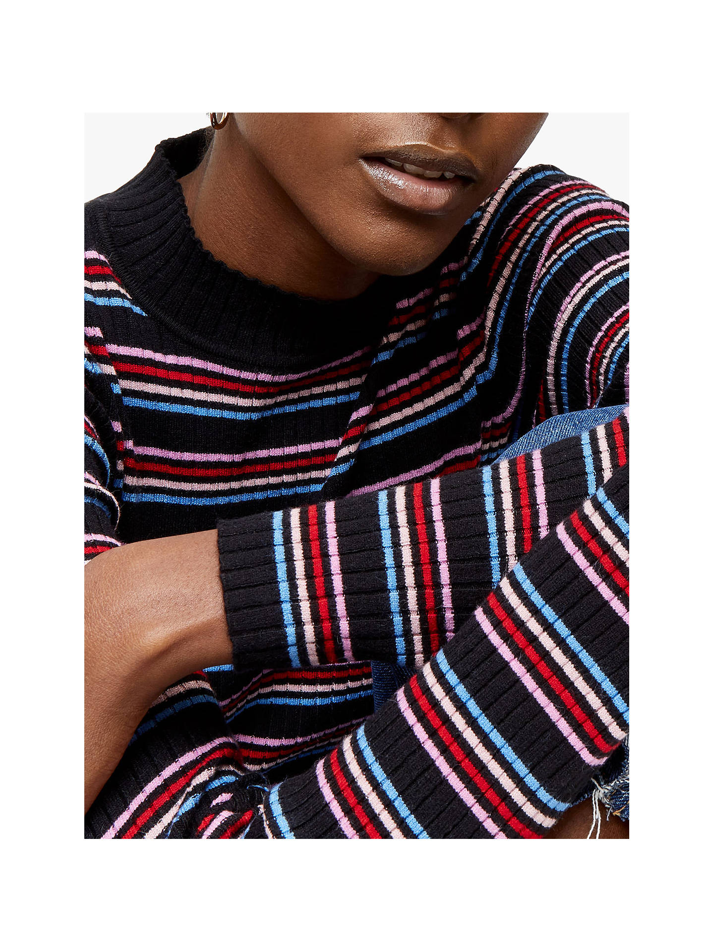 BuyWarehouse Stripe Jumper, Multi, 6 Online at johnlewis.com