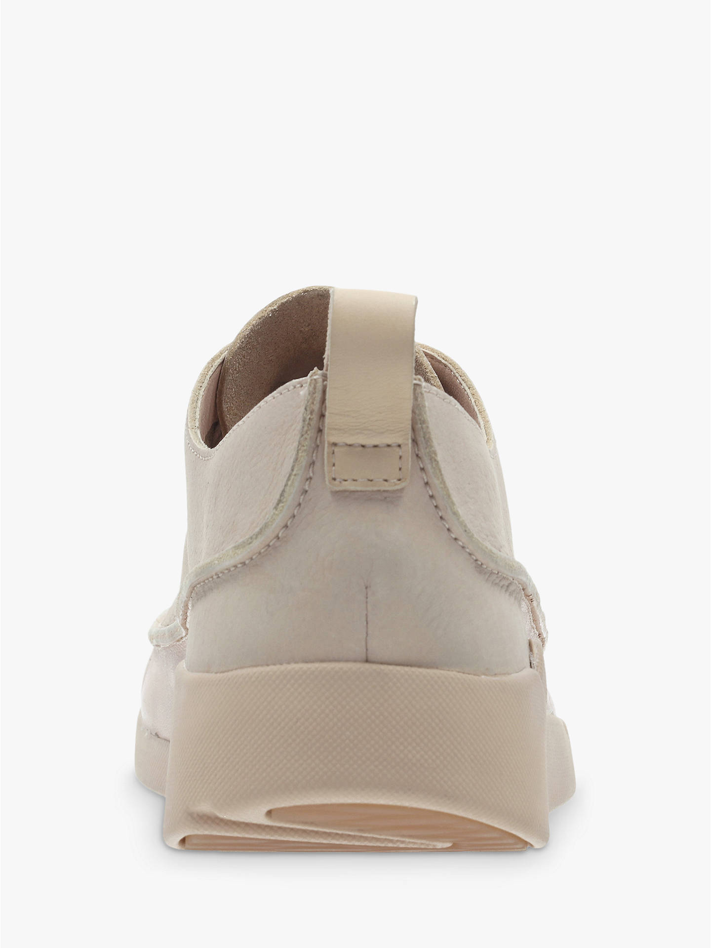 Buy Clarks Tri Clara Flatform Trainers, Blush, 7.5 Online at johnlewis.com