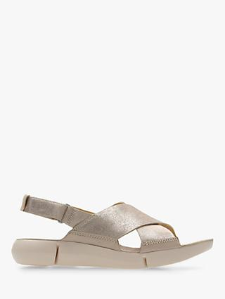 Clarks Tri Chloe Cross Strap Sandals