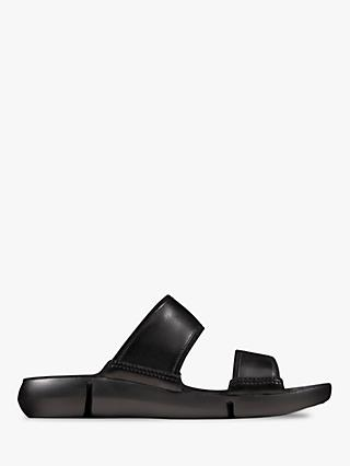 Clarks Tri Sara Double Strap Slide Sandals